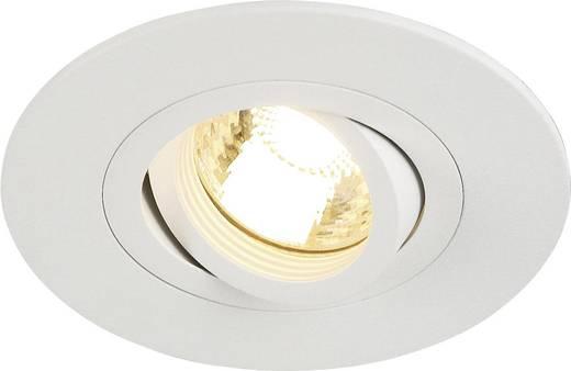 Einbauleuchte Halogen, LED GU10 50 W SLV 113441 New Trial XL Weiß (matt)