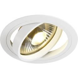 Vstavané svietidlo - halogénová žiarovka, LED SLV New Tria 1 113540 GU10, 75 W, biela (matná)