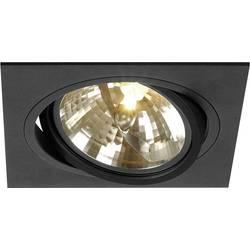 Vestavné svítidlo - LED, halogenová žárovka SLV New Tria 1 113800 G53, 75 W, černá (matná)