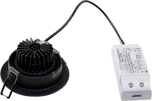 SLV New Tria 113870 LED-Einbauleuchte 6 W Warm-Weiß Schwarz (matt)