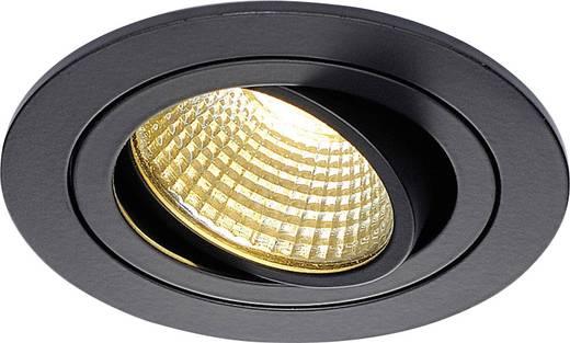 LED-Einbauleuchte 6 W Warm-Weiß SLV New Tria 113870 Schwarz (matt)