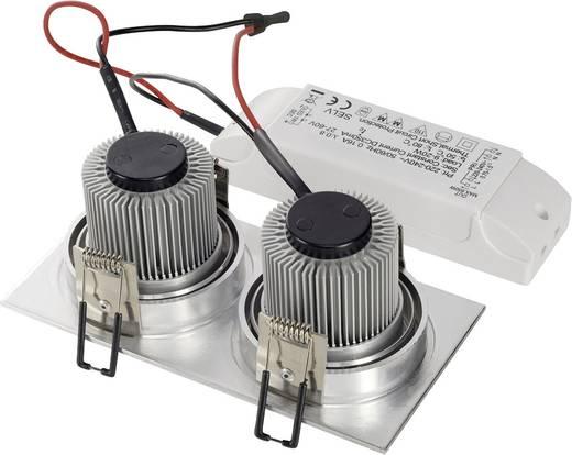 LED-Einbauleuchte 12 W Warm-Weiß SLV New Tria 113926 Aluminium (gebürstet)