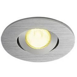 LED vestavné svítidlo SLV New Tria Mini 113986, 2.2 W, teplá bílá, hliník (kartáčovaný)