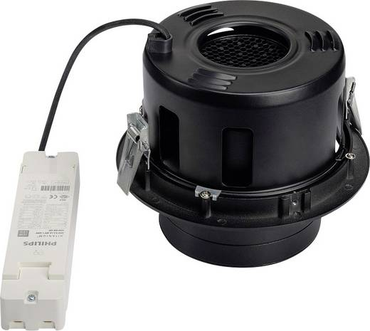 SLV Supros Move 114120 LED-Einbauleuchte 35 W Warm-Weiß Schwarz