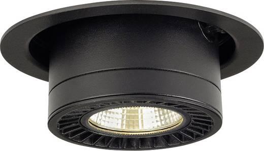 LED-Einbauleuchte 35 W Warm-Weiß SLV Supros Move 114120 Schwarz