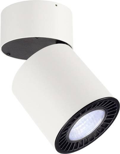 LED-Deckenleuchte 28 W Neutral-Weiß SLV Supros 114181 Weiß