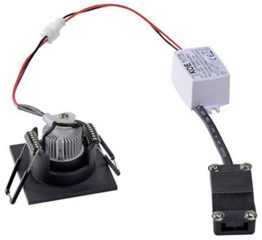 LED-Einbauleuchte 4.4 W Warm-Weiß SLV New Tria Mini Set 114400 Schwarz (matt)