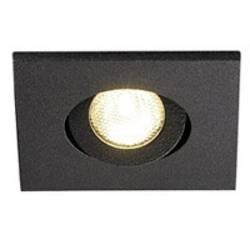 LED vestavné svítidlo SLV New Tria Mini 114410, 2.2 W, teplá bílá, černá (matná)