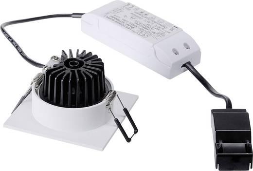 SLV Patta-I 114431 LED-Einbauleuchte 12 W Warm-Weiß Weiß (matt)