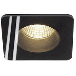 LED vestavné svítidlo SLV Patta-F 114450, 12 W, teplá bílá, černá (matná)