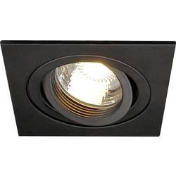 Vstavané svietidlo - halogénová žiarovka SLV New Tria 113491 GU10, 50 W, čierna