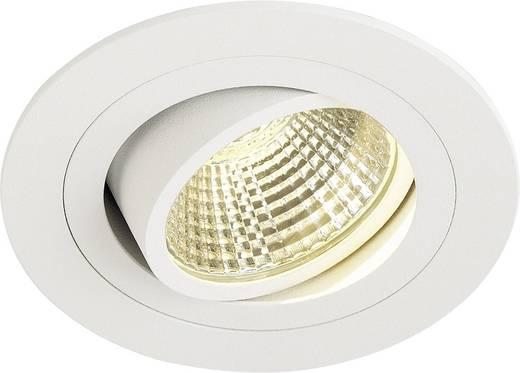 SLV New Tria 113901 LED-Einbauleuchte 6 W Warm-Weiß Weiß (matt)
