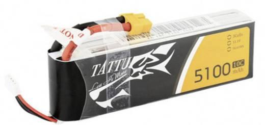 Tattu Modellbau-Akkupack (LiPo) 11.1 V 5100 mAh Zellen-Zahl: 3 10 C Stick XT60