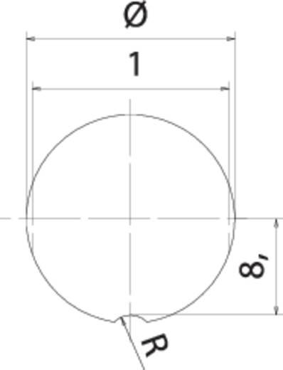 Miniatur-Rundsteckverbinder Flanschstecker Gesamtpolzahl: 5 09 0115 300 05 Binder 1 St.