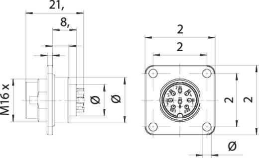 Wunderbar Verdrahtung Eines L14 30p Steckerdiagramms Fotos - Die ...