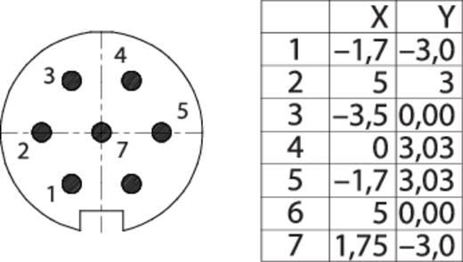 M16 Flanschstecker 7 polig 09 0127 300 07 Binder 1 St.