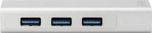 Digitus DA-70250-1 3+1 Port USB 3.0-Hub Silber