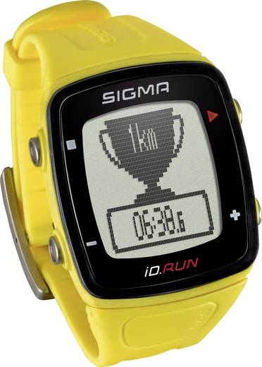 Fitness-Tracker Sigma iD.RUN Gelb