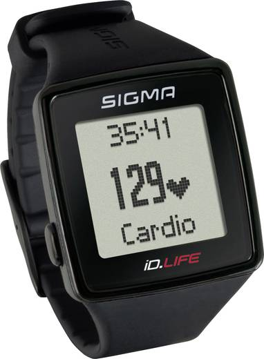 Fitness-Tracker Sigma iD.LIFE Schwarz
