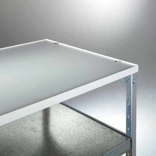 Abdeckplatte Melamin Traglast (max.): 40 kg Licht-Grau Manuflex TV0411