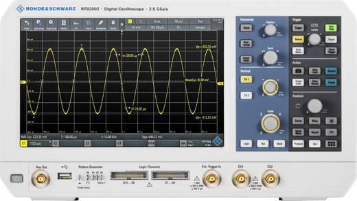 Digital-Oszilloskop Rohde & Schwarz RTB2K-102 100 MHz 2-Kanal 1.25 GSa/s 10 Mpts 10 Bit Digital-Speicher (DSO), Multime