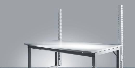 Manuflex ZB3783.9006 Aufbauportal UNIVERSAL Spezial und ERGO 1200mm (Nutzhöhe 600mm) Grundausführung Weißaluminium