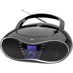 DAB+ rádio s CD prehrávačom AEG SR 4380, CD, DAB+, čierna