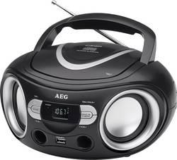 FM CD rádio AEG SR 4374, černá