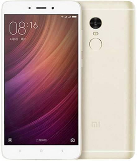 Xiaomi Redmi Note 4 LTE-Smartphone 14 cm (5.5 Zoll) 2 GHz Octa Core 32 GB 13 Mio. Pixel Android™ 6.0 Marshmallow Gold