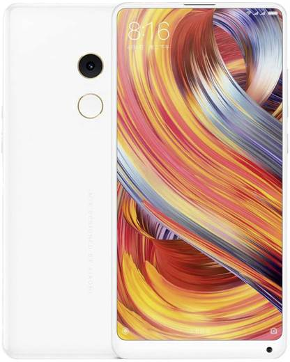 Xiaomi Mi Mix 2 Smartphone Dual-SIM 128 GB 15.2 cm (5.99 Zoll) 12 Mio. Pixel Android™ 7.1.1 Nougat Weiß