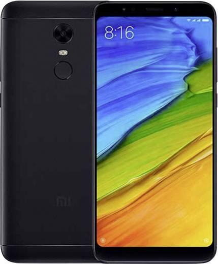 Xiaomi Redmi 5 Plus Smartphone Hybrid-Slot 32 GB 15.2 cm (5.99 Zoll) 12 Mio. Pixel Android™ 7.1 Nougat Schwarz