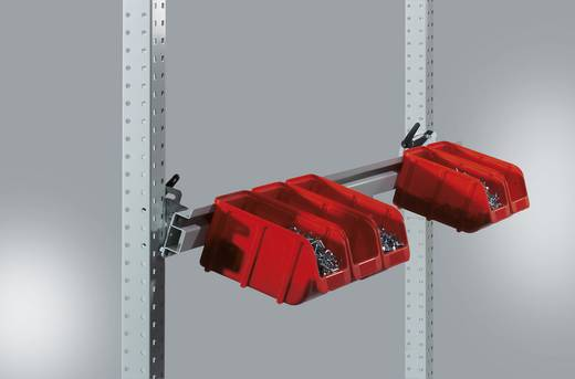 Manuflex ZB3905.3003 Boxenträgerschiene 1250 (1246mm) RAL3003 rubinrot