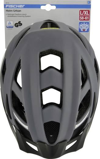 MTB-Helm Fischer Fahrrad Urban Levin S/M Grau, Schwarz Konfektionsgröße=M