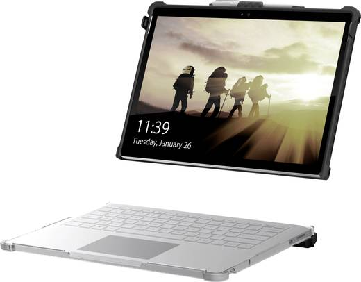 "uag Notebook Hülle Urban Armor Gear Plasma Case Passend für maximal: 34,3 cm (13,5"") Microsoft Surface Book 2 (13,5"" Mo"