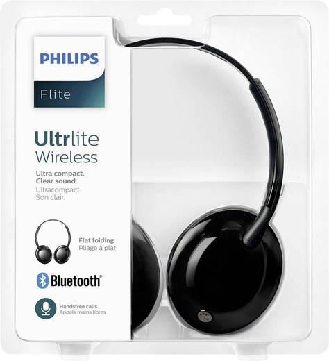 Philips SHB4405BK Flite Ultrlite Bluetooth® Reise Kopfhörer On Ear Faltbar, Headset Schwarz