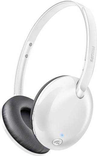 Philips SHB4405WT Flite Ultrlite Bluetooth® Reise Kopfhörer On Ear Faltbar, Headset Weiß