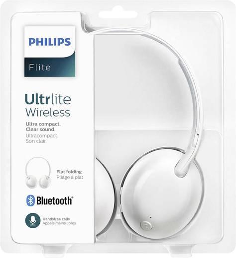 Bluetooth® Reise Kopfhörer Philips SHB4405WT Flite Ultrlite On Ear Faltbar, Headset Weiß