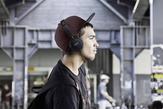 Philips SHL5005 Kopfhörer On Ear Faltbar, Noise Cancelling Schwarz