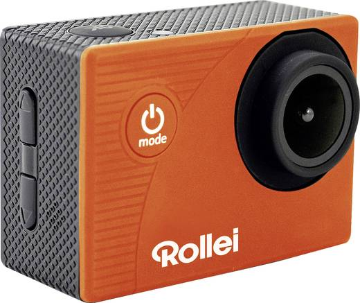 Action Cam Rollei Rollei Actioncam 372 orange 40141 Full-HD, WLAN, Wasserfest