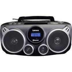 N/A Lenco SCD-100, AUX, Bluetooth, CD, SD, USB, čierna