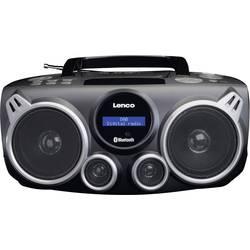 DAB+ rádio s CD prehrávačom Lenco SCD-685, AUX, Bluetooth, DAB+, USB, čierna, sivá