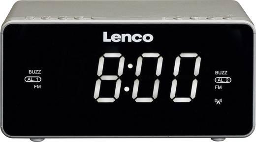 Lenco CR-530 UKW Radiowecker AUX Silber