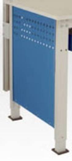 Manuflex LZ3340.7035 Seitenblende 800er, (592x628) für Ergo/Spezial RAL7035 lichtgrau leitfähig