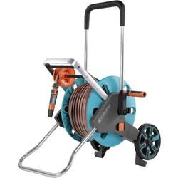 Navíjací vozík pre záhradnú hadicu GARDENA CleverRoll M Easy Set 18517-20, 1/2 Zoll, 20 m, tyrkysová, oranžová, sivá