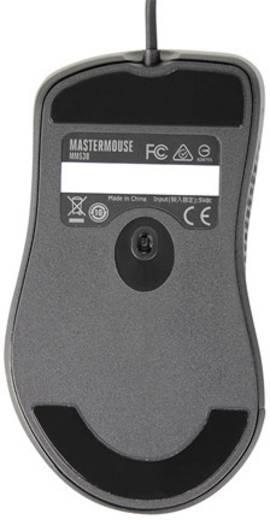 USB-Maus Optisch Cooler Master MasterMouse MM530 Beleuchtet, Integrierter Profilspeicher Schwarz