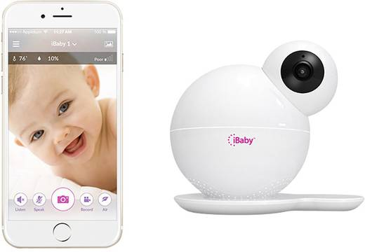 iBaby iBaby M6 51458 Babyphone mit Kamera WLAN 2.4 GHz