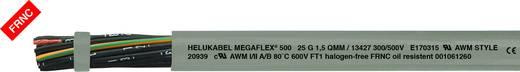 Steuerleitung MEGAFLEX® 500 7 G 1 mm² Grau Helukabel 13399 Meterware