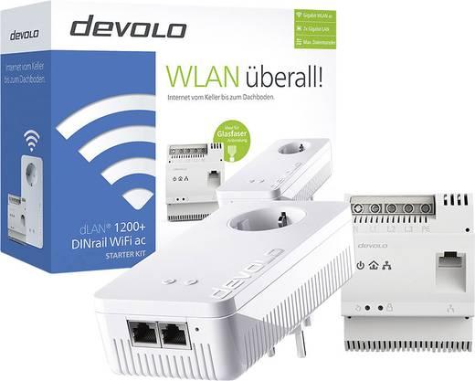 devolo dlan 1200 dinrail wifi ac starter kit powerline. Black Bedroom Furniture Sets. Home Design Ideas