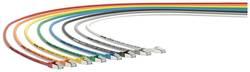 Sieťový prepojovací kábel RJ45 LappKabel 24441224, CAT 6A, S/FTP, 0.5 m, modrá