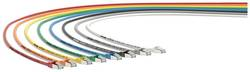 Sieťový prepojovací kábel RJ45 LappKabel 24441240, CAT 6A, S/FTP, 0.5 m, čierna